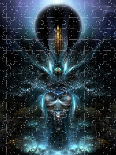 Xzendor7 Custom Art Jigsaw Puzzles - Penapia Fractal Art Composition