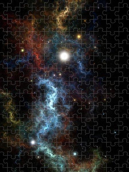Xzendor7 Custom Art Jigsaw Puzzles - The Sydeous Nexus Cluster