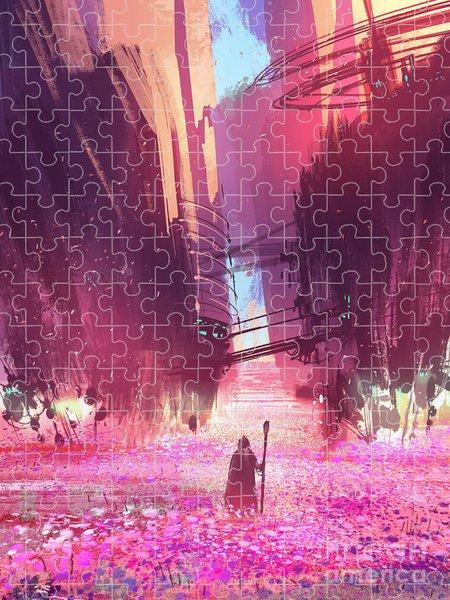 Science Fiction Puzzles