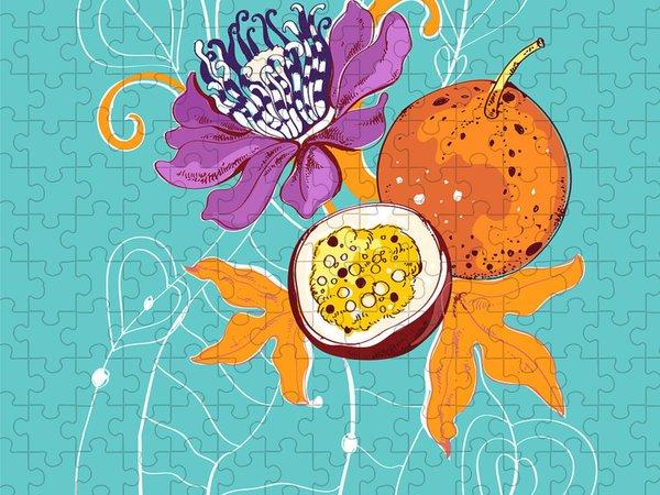Passion Fruit Flower Puzzles
