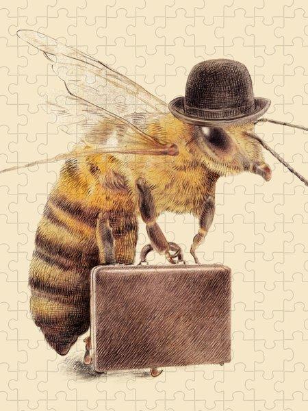 Honey Bee Jigsaw Puzzles