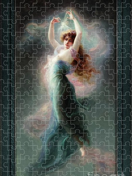 Xzendor7 Custom Art Jigsaw Puzzles - L'Etoile by Edouard Bisson Fine Art Old Masters Reproduction