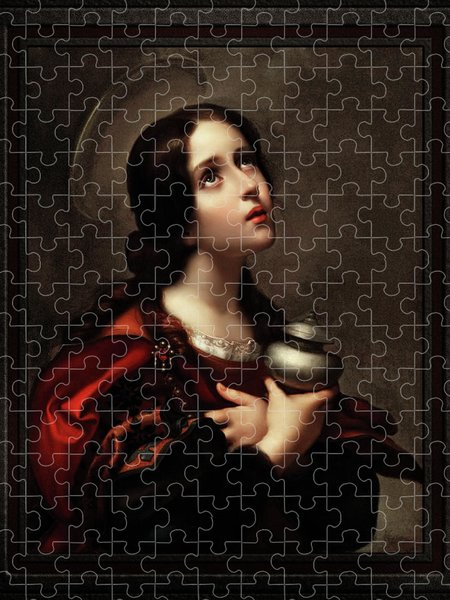 Xzendor7 Custom Art Jigsaw Puzzles - Mary Magdalene by Carlo Dolci Classical Fine Art Xzendor7 Old Masters Reproductions