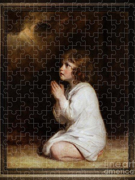 Xzendor7 Custom Art Jigsaw Puzzles - The Infant Samuel by Joshua Reynolds