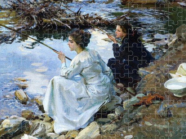 John Singer Sargent Jigsaw Puzzles