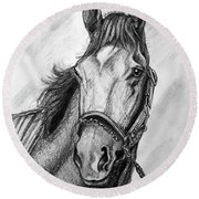 Barbaro Round Beach Towel