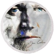 Joe Cocker - Hymn For My Soul     Round Beach Towel