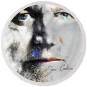 Joe Cocker - Hymn For My Soul     Round Beach Towel