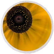 Looking At You Kid Round Beach Towel
