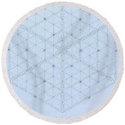 Why Energy Equals Mass Times The Speed Of Light Squared Round Beach Towel