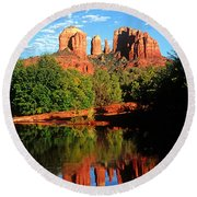 0464 Sedona Arizona Round Beach Towel