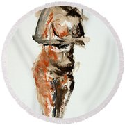 04830 Patieince Round Beach Towel
