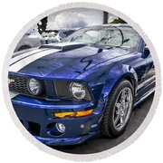 2008 Ford Shelby Mustang With The Roush Stage 2 Package Round Beach Towel