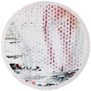 Abstract Original Artwork One Hundred Phoenixes Untitled Number Ten Round Beach Towel