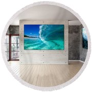 Barrel Swirl Round Beach Towel
