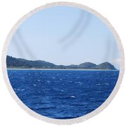 Bragini Beach Round Beach Towel by George Katechis