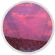 Bryant-denny Painted Sky Round Beach Towel