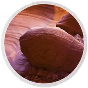 Canyon Rocks Round Beach Towel