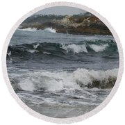 Carmel Original Photo Round Beach Towel