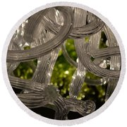Chihuly-11 Round Beach Towel by Dean Ferreira