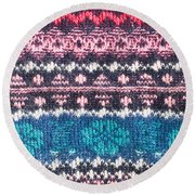 Colorful Textile Round Beach Towel