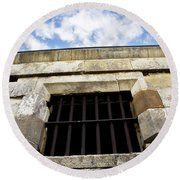 Convict Cell Round Beach Towel