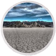 Cool Desert Round Beach Towel