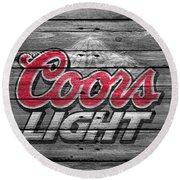 Coors Light Round Beach Towel