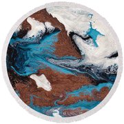 Cosmic Blend One Round Beach Towel
