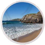 Coumeenoole Beach Slea Head Dingle Round Beach Towel