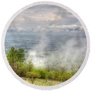 Dunlap Valley Round Beach Towel