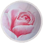 English Rose Round Beach Towel