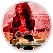 Estas Tonne Round Beach Towel by Fei A