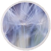 Fluffy Round Beach Towel