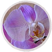 Grace And Elegance Round Beach Towel