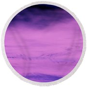 Round Beach Towel featuring the photograph Gravity Pull by Jamie Lynn