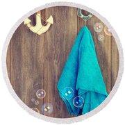 Hanging Towel Round Beach Towel