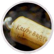 Krupp Cork Round Beach Towel