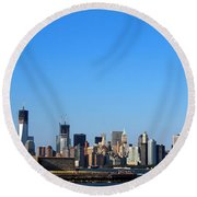 Lady Liberty Watches 1wtc Rise Round Beach Towel