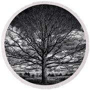 Marion Oaks Round Beach Towel