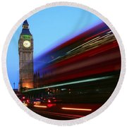 Must Be London Round Beach Towel