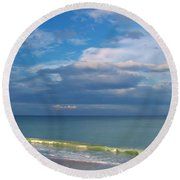 Natures Beauty Round Beach Towel