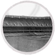 New Yankee Stadium Round Beach Towel