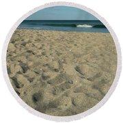 Paddle Ball Round Beach Towel