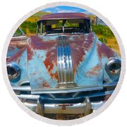 Pontiac Blues Round Beach Towel