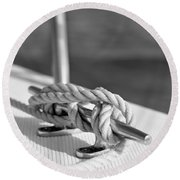 Sailor's Knot Square Round Beach Towel