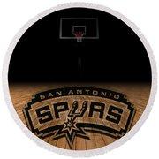 San Antonio Spurs Round Beach Towel