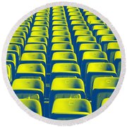Seats Round Beach Towel