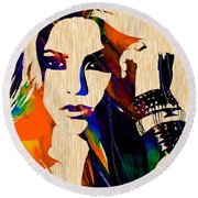 Shakira Collection Round Beach Towel