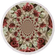 Soft Beauty Round Beach Towel